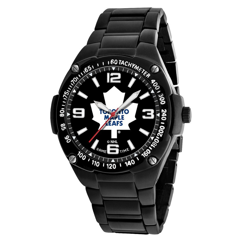 Men's Game Time Gladiator Series Watch Toronto Maple Leafs - Black