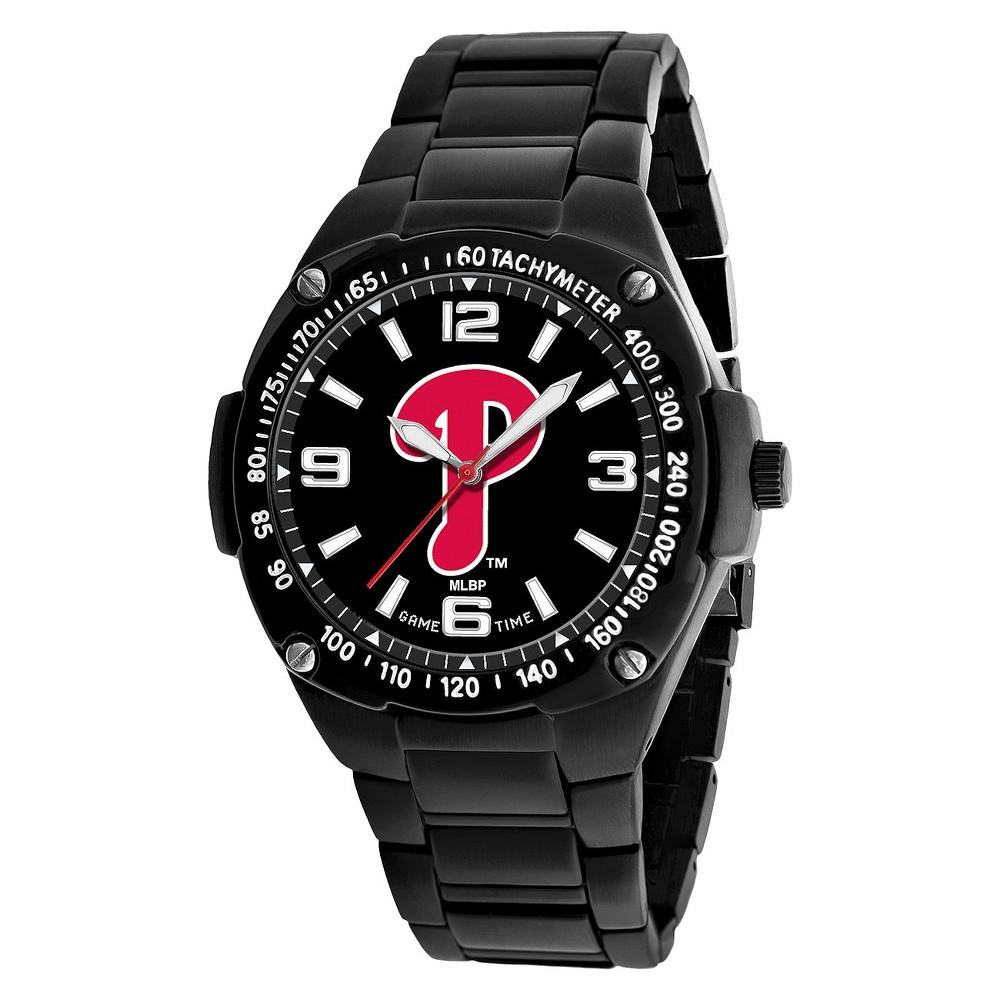 Men's Game Time Gladiator Series Watch Phil Phillies - Black, Philadelphia Phillies - Black