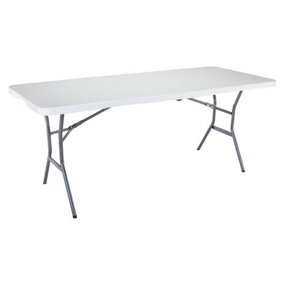 6' Folding Table White Granite - Lifetime ®
