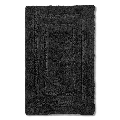 Egyptian Cotton Bath Rug - Essential Gray (22x35) - Fieldcrest™
