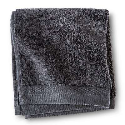 Fieldcrest® Luxury Egyptian Cotton Washcloth - Essential Gray
