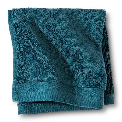 Fieldcrest® Luxury Egyptian Cotton Washcloth - Heir Blue