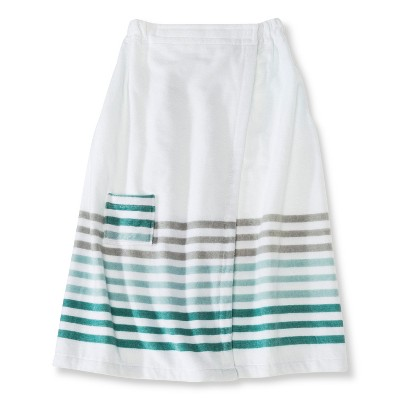Threshold™ Stripe Shower Wrap - Mint