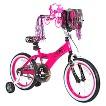 "Girl's Barbie Bike - Pink/Black (16"")"