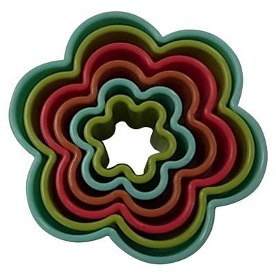 Circo 6 pk flower cookie cutters