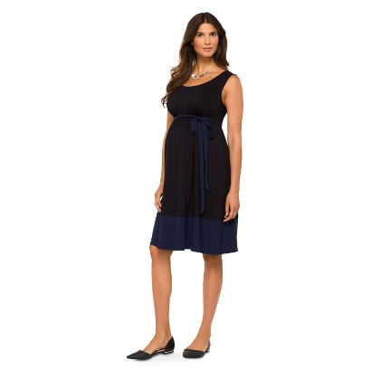Maternity Sleeveless Knit Dress