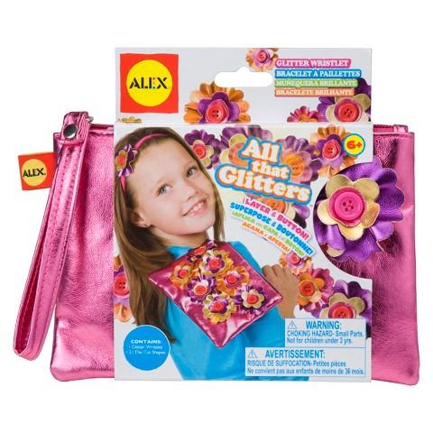 Alex All That Glitters Wristlet