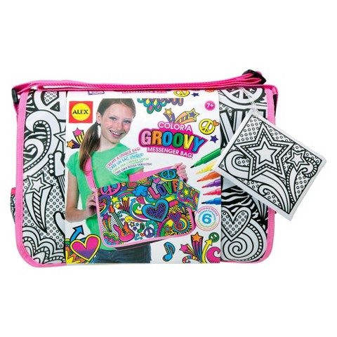 Alex Color A Groovy Messenger Bag