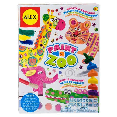 Alex Paint A Zoo