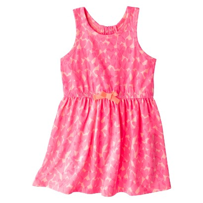 Circo® Infant Toddler Girls' Neon Heart Sundress