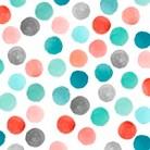 Watercolor Polka Dot Memo Board