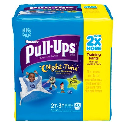 HUGGIES® Pull-Ups® Night*Time Training Pants for Boys (Select Size)