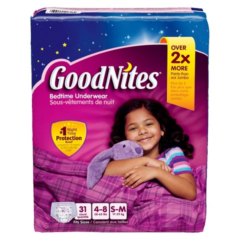 HUGGIES® GoodNites® Underwear for Girls Big Pack (Select Size)