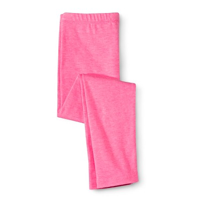 Infant Toddler Girls' Leggings - Dazzle Pink 12 M