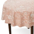 Threshold™ Jacobean Floral Tablecloth - Orange