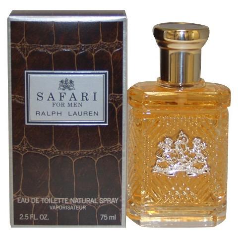 Men's Safari by Ralph Lauren Eau de Toilette Spray - 2.5 oz