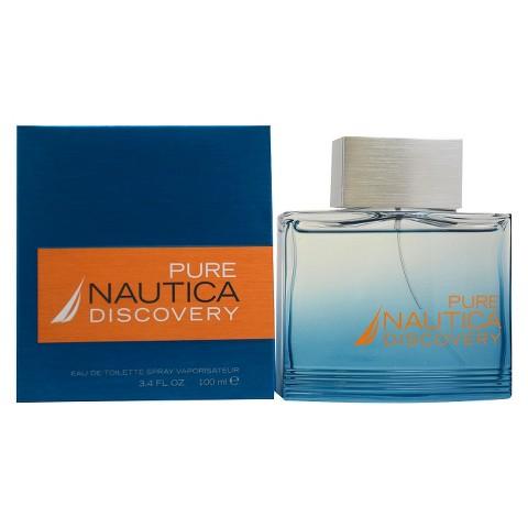 Men's Nautica Pure Discovery by Nautica Eau de Toilette Spray - 3.4 oz