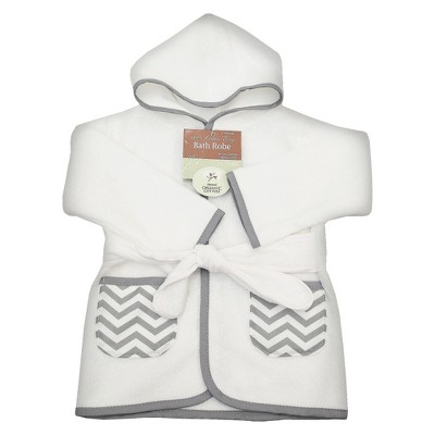 TL Care Organic Terry Robe - Gray