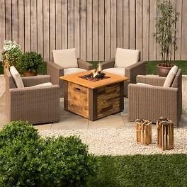 Threshold™ Heatherstone Wicker Patio Conversation Furniture Collection