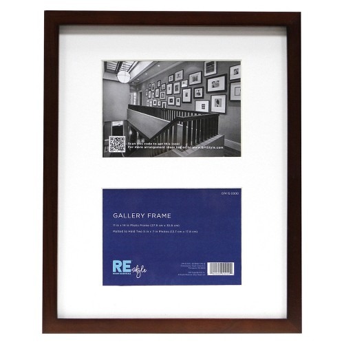 Room Essentials 2 Opening Frame With Mat 11x14 To 5x7 Ebay