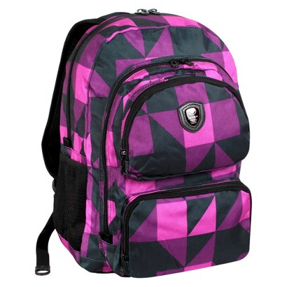 JWorld Astro Laptop Backpack - Block Pink