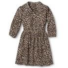 Girls' Leopard Print Dress