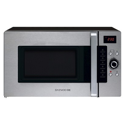 Daewoo 1.0 cu. Ft. 900w Progressive Convection Oven /Microwave/Grill - Stainless Steel/Black