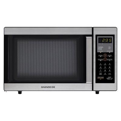 Daewoo 0.9 Cu.Ft. 800 Watt Countertop Microwave Oven - Silver KOR-9G5B