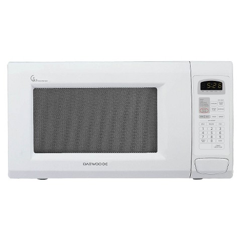 Daewoo 1.3cu.ft. 1100w Countertop Microwave with Touch Control - White