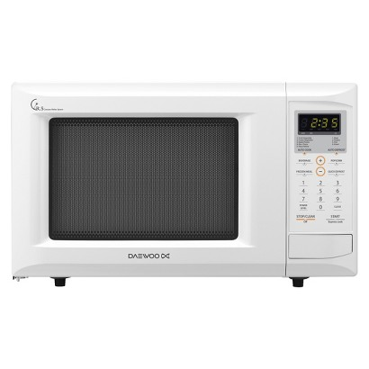 Daewoo 0.9cu.ft. 800 w Countertop Microwave with Touch Control - White