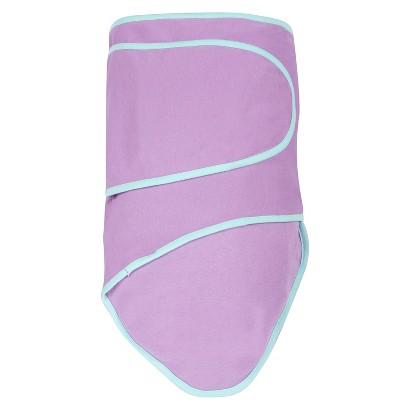 Miracle Blanket Swaddler - Purple/Mint