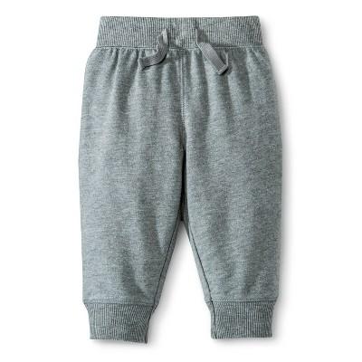 Circo® Newborn Boys Inside Pop Waistband Pants - Heather Gray 3-6 M