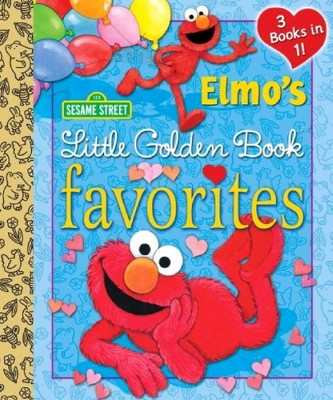 Elmo's Little Golden Book Favorites ( Little Golden Book Favorites) (Hardcover)