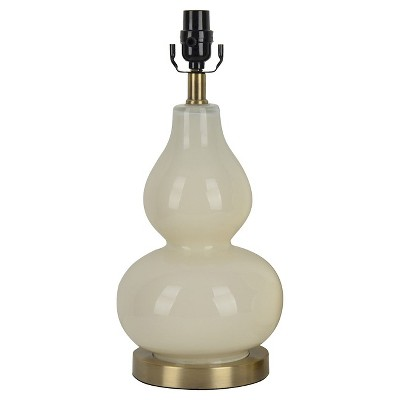Threshold™ Double Gourd Table Lamp Base - Sour Cream (Includes CFL Bulb)