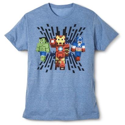 Avengers Men's T-Shirt - Blue