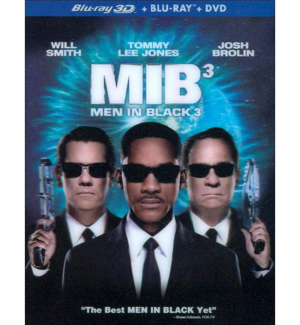 Men in Black 3 [3 Discs] [Includes Digital Copy] [UltraViolet] [2D/3D] [Blu-ray/Dvd]