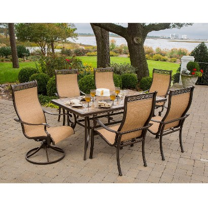 Monaco Sling Patio Dining Furniture Collection Tar