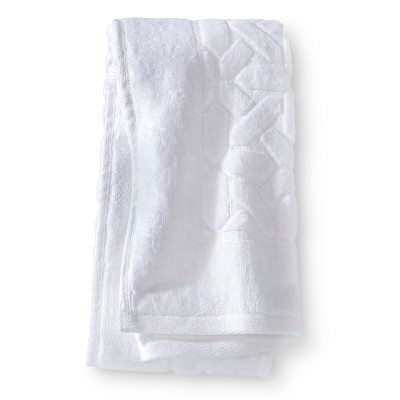 Velour Hand Towel - True White - Fieldcrest™
