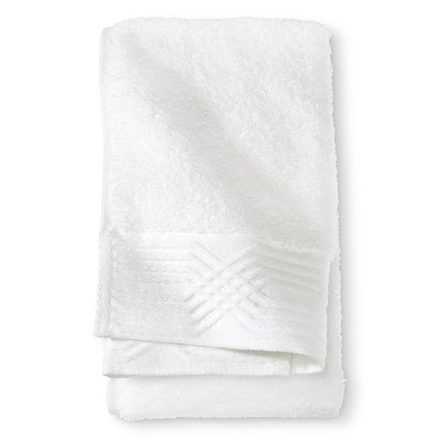 Zero Twist Louisa Hand Towel - True White - Fieldcrest™