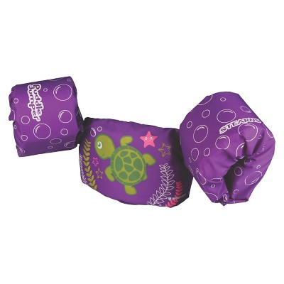 Stearns® Puddle Jumper  Girls Purple Turtle