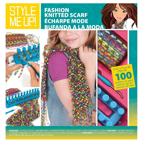style me up fashion knitted scarf target