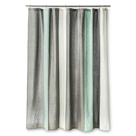 Solid Grey Shower Curtain Burnt Orange Shower Curtai