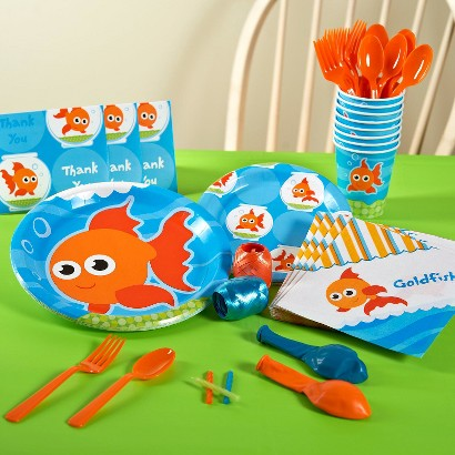 Goldfish Party Pack for 16 - Multicolor