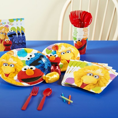 Sesame Street Party Pack for 8 - Multicolor