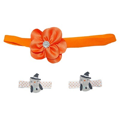 Just One You™Made by Carter's® Newborn Girls' Halloween Hairband and Hair Clips Set