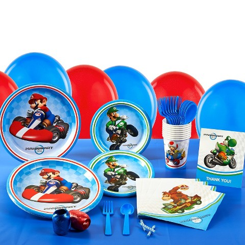 Mario Kart Wii Birthday Party Pack
