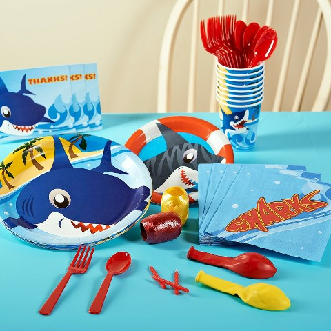 Sharks Birthday Party Pack