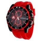 Airwalk™ Rubber Strap Analog Watch - Red