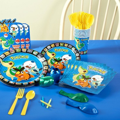 Pokemon Birthday Party Pack for 8 - Multicolor product details page
