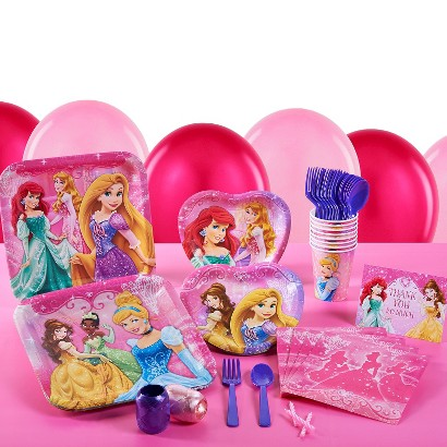 Very Important Princess Dream Party Pack for 16 - Multicolor